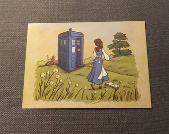 Adventure in the Great Wide Somewhere Postcard (Item 09-001)