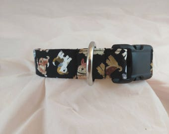 Dog Collars, Adjustable Collar, Small or Tiny Dog Collar, Boy dog Collar, Masculine Dog Collars, Breakaway Dog Collar, collar de perro,