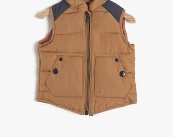 Baby boy vest, Color Block Vest