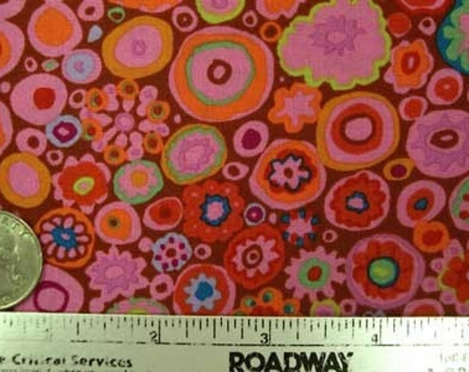 SALE - Kaffe Fassett PAPERWEIGHT PAPRIKA GP20 Fabric by the Yard, Half Yard, or Fat Quarter