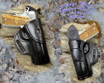 1911 Holster, Holster, 1911 Avenger Holster, Gun Leather