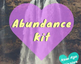 Abundance Kit - PDF Workbook + MP3 Meditation