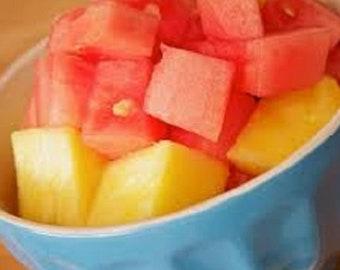 Pineapple Melon Melter Tart