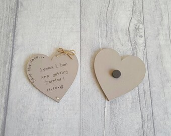 Save the date magnets - Available in any colours