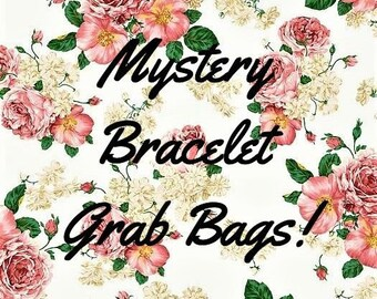 Surprise Bracelet Grab Bags. Jewelry, gift, beaded,