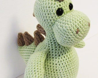 stuffed dinosaur – crochet dinosaur - toy dinosaur - stuffed animal - baby toy