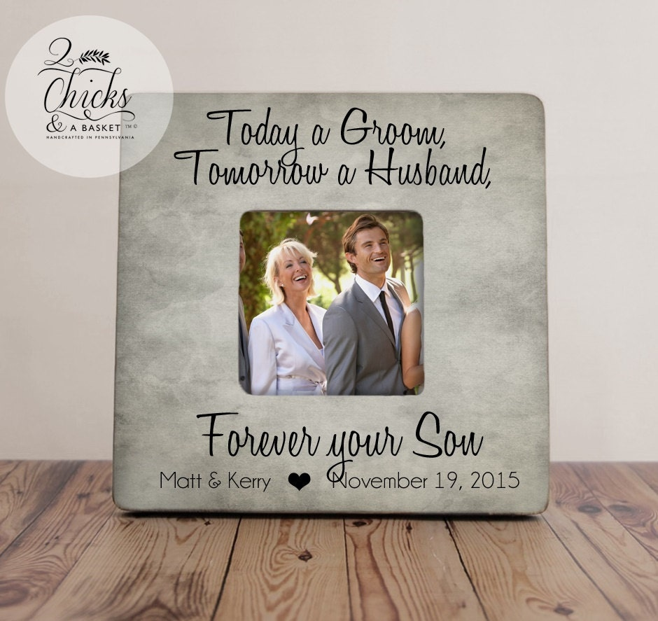 Mother of groom gift today a groom tomorrow a husband forever request a custom order and have something made just for you jeuxipadfo Images
