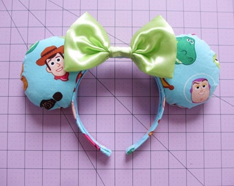 Toy Story Characters Print Mouse Ears Headband