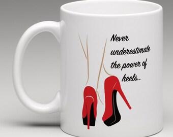 Red Heels Mug
