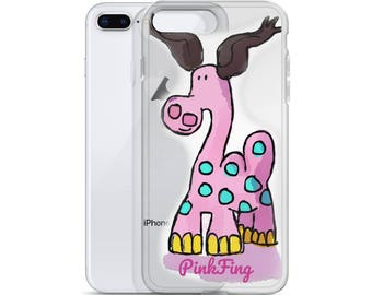 PinkFing iPhone Case