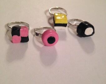 Licorice Allsorts Rings!