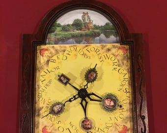 Molly Weasley's Clock Customized  With Your Family Photos From Harry Potter -Lite