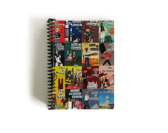 Travel Journal Around the World A6 Notebook