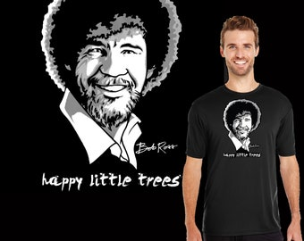 Bob Ross Happy Little Trees. The ever popular PBS artist who won over our hearts and paintbrushes back in the 70's. Great gift for painters.