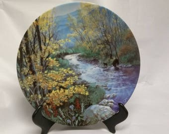 "Collectors Plate ""Autumn Splendor in the Smoky Mountains"""