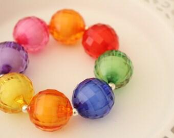 Cute Chunky Bracelet - Fun Chunky Bracelet - Chunky Jewelry - Girls Bracelet - Bubblegum Bracelet
