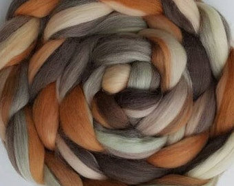 4 oz of Mona Lisa Merino Combed Top (roving).  Great for Spinning and Felting