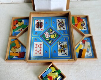 Vintage French Nain Jaune board game
