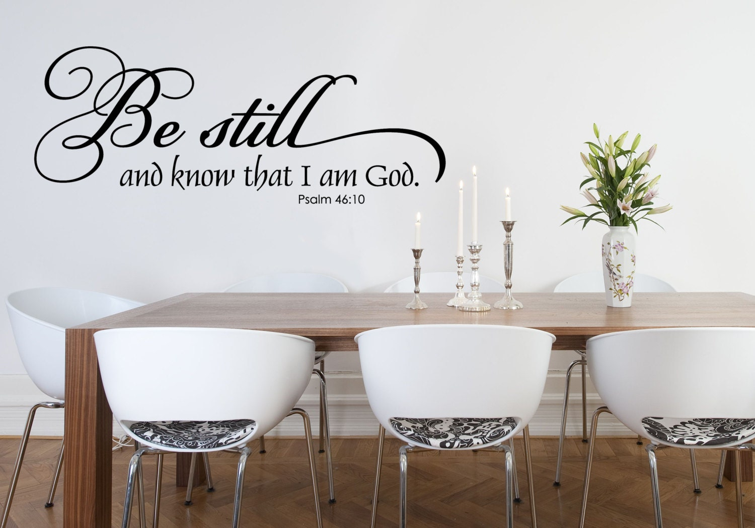 Christian Wall Decal Family Wall Decal Scripture Wall