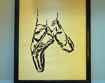 Ballet Slippers - Wall Hanging
