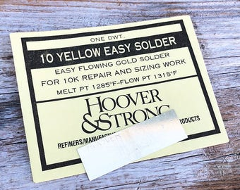 10K Yellow Repair Gold Solder Easy (SR10Y)