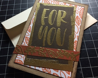 For You - Fall Themed Cards