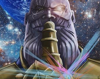 Thanos/Cable/Brolin 11x17 Digital print
