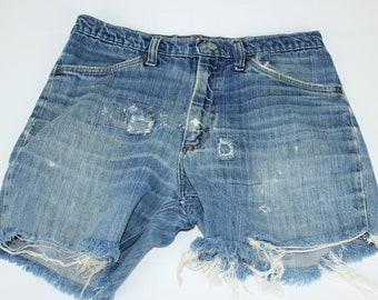 Vintage Men's Ranchcraft Size  32 ? JCPenny Denim Blue Jean Cut Off Shorts