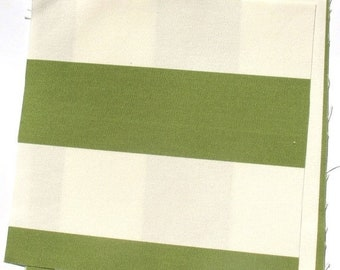 25% OFF - Green Stripes - IKEA Sofia Cotton Fabric Quilting Charm Squares