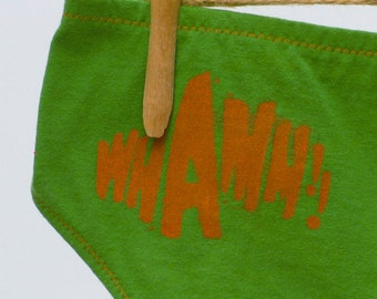 Whamm Superhero Women's Underwear - Boy Cut & Recycled Cotton - Made to Order