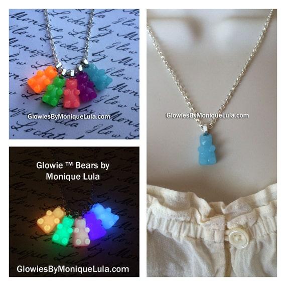 Glowie Bear Necklace