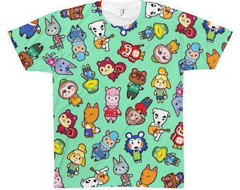 Animal Crossing All Over Print TShirt