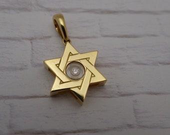 Chopard 18k Star of David Pendant