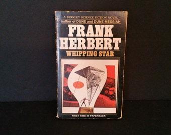 Vintage Whipping Star Paperback Frank Herbert 1970 Berkley Book