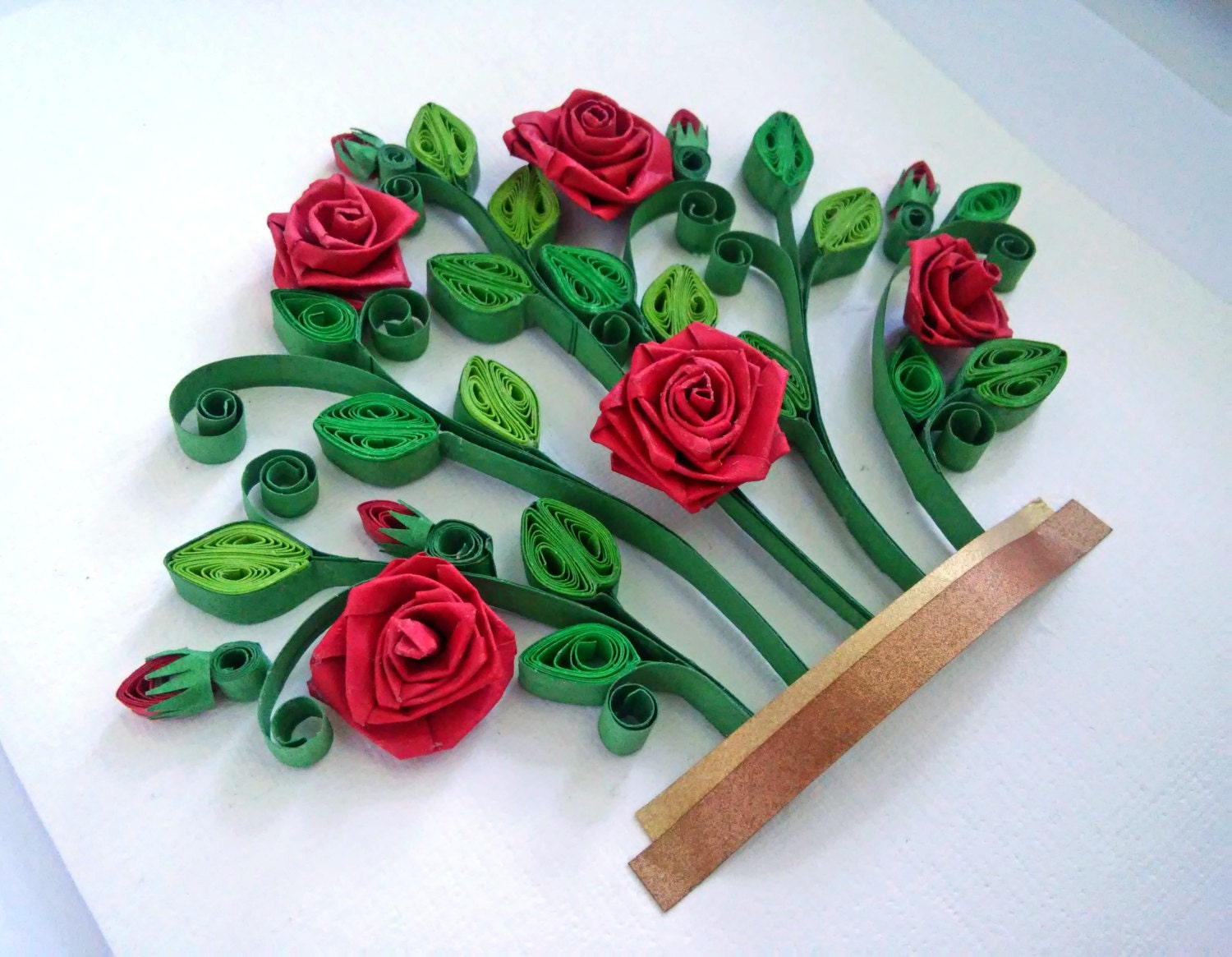 35 Amazing Quilling Flowers