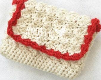 Summer Crochet Clutch// Crochet Handbag