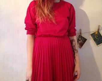 Vintage dress38/M 40/L  SIZE 70s