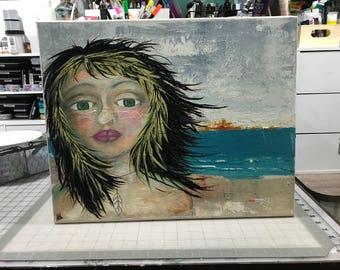Original, Artwork, Mixed Media, Unframed, All New  Painting