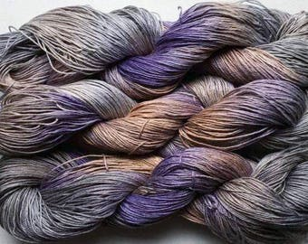 Linen 16/4, Hand painted yarn, 300 yds - Summer