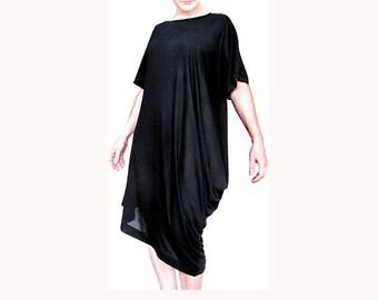 Draped T Dress