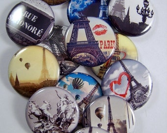Paris Magnets Pins Eiffel Tower Gift Sets Party Favors Wedding Favors Fridge Magnets