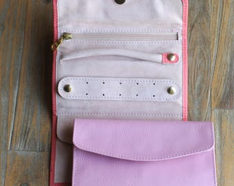 Undercover Real Leather Jewellery Roll