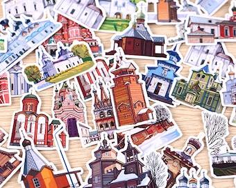 34 Pieces of Dream City Stickers - Journal/Planner/Scrapbooking