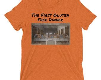 The First Gluten Free Dinner Short sleeve t-shirt