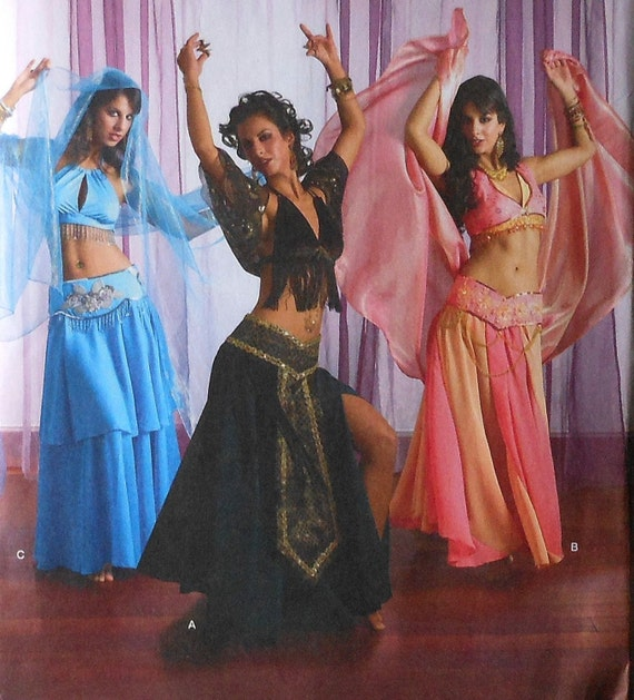 Belly Dancer Costume Sewing Pattern UNCUT Simplicity 2941