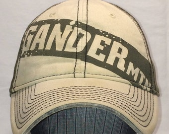 Vintage Strapback Baseball Cap Gander Mtn Mountain Outdoor Sports Hunting Fishing Hat Mens Gift Ideas T89 N7165