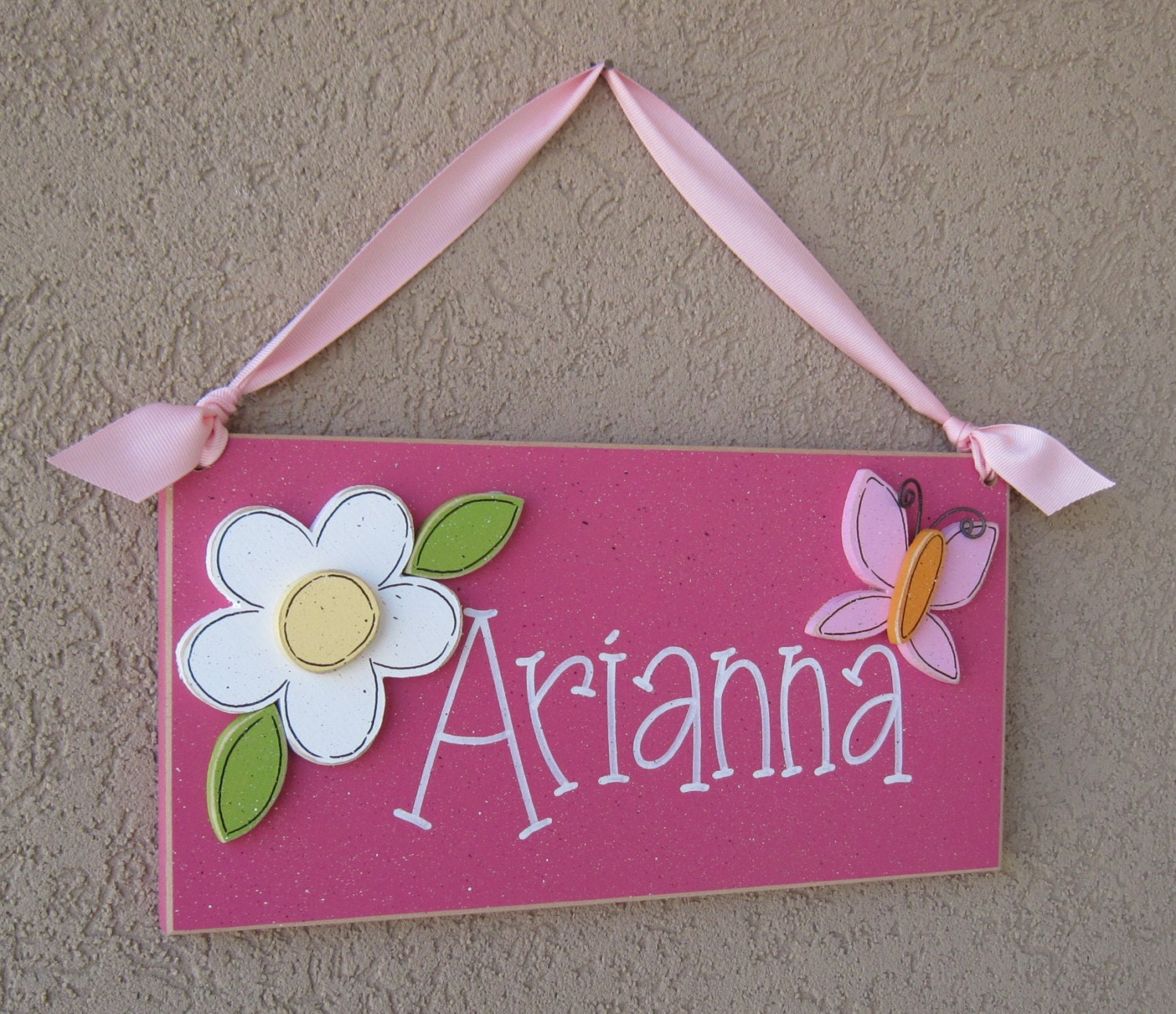 CUSTOM PERSONALIZED Name or word Sign for children home