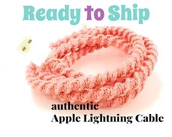 Foudre chargeur câble iPhone, iPhone EarPods, iPhone EarPods plus foudre câble cadeau ensemble vous choisissez - CORA par Missy et la joie