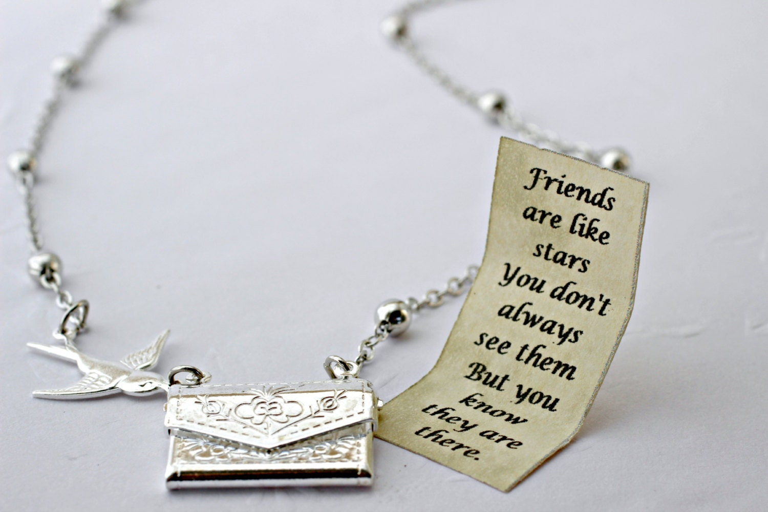 jewel lockets forever hut silver necklace the friendship pandora friends