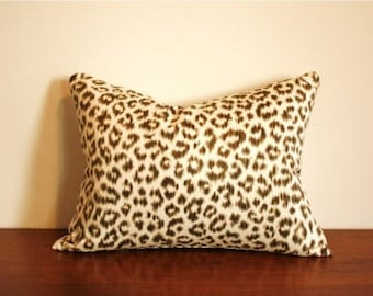 Snow Leopard Pillow